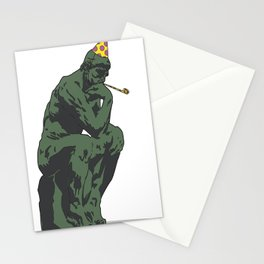 Thinking About partying Stationery Cards