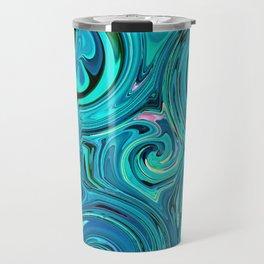 Aqua twists Travel Mug