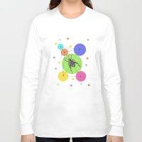 bug Long Sleeve T-shirts featuring bug by mark ashkenazi