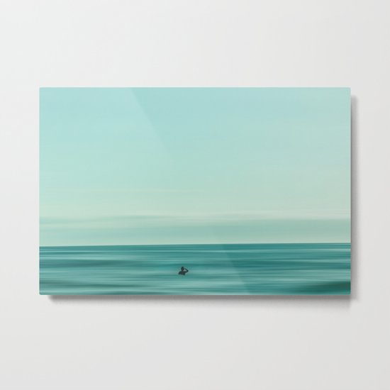 turquoise waters #buyart #society6 Metal Print
