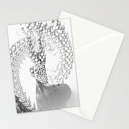 Mystical Grey Roe Deer Stationery Cards