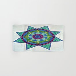 Mandala Star Hand & Bath Towel