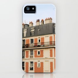 paris house iPhone Case