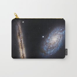 Galaxies NGC 4302 and NGC 4298 Carry-All Pouch