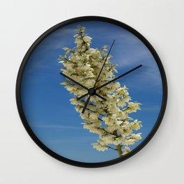 Soap Yucca Blossoms Wall Clock