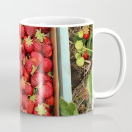 Strawberry Picking Coffee Mug