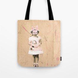 Imaginary Friends- Bunny Tote Bag