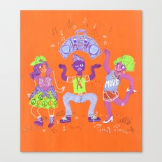 Bust a Move Canvas Print