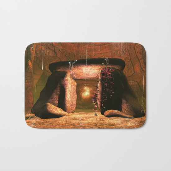 The mystical light ball Bath Mat