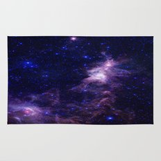 gAlAXY Purple Blue Rug