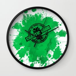 Chaotic Good RPG Game Alignment Wall Clock