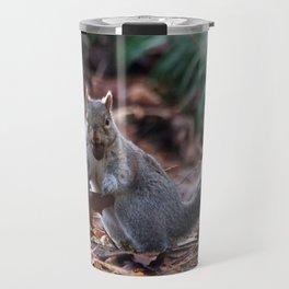 Squirrel in the Spotlight Travel Mug