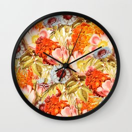 Coral Bloom #society6 #decor #buyart Wall Clock