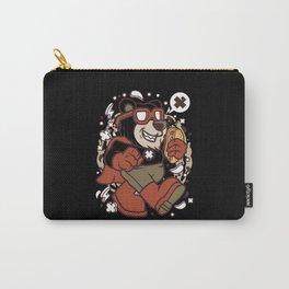 SUPERHERO BEAR Carry-All Pouch