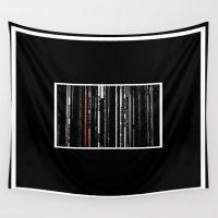 jazz Wall Tapestries featuring Jazz Stacks by Derek Delacroix