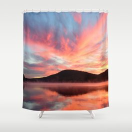 Glory: A Spectacular Sunrise Shower Curtain