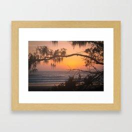 Exotic Sunrise Framed Art Print