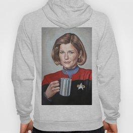 Captain Janeway - Portrait Painting Hoody