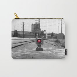 Train Track Signal Light Carry-All Pouch