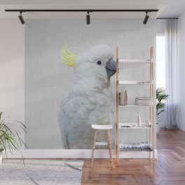 White Cockatoo - Colorful Wall Mural