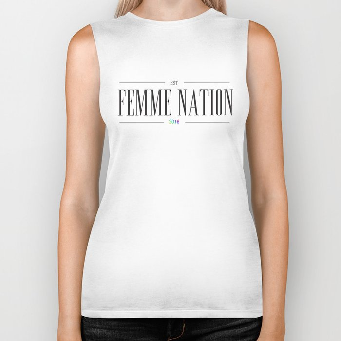 Femme Nation Biker Tank