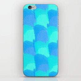 Bluesy Quilt iPhone Skin