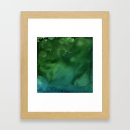 In the Deep End Framed Art Print