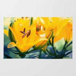 Summer Lilies II Rug