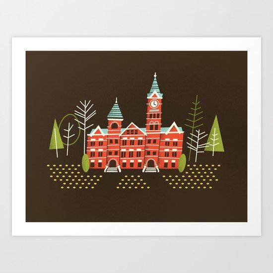 Samford Hall Art Print