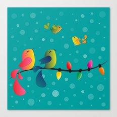 Fly High, My Babies - Merry Christmas Canvas Print