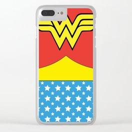 Wonderwoman Clear iPhone Case