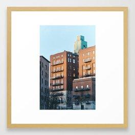 Gothenburg, January Framed Art Print
