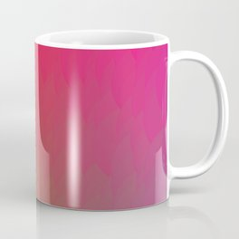 Red Gold Green Ombre Flame Coffee Mug