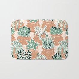 Succulent's Tiny Pots Bath Mat