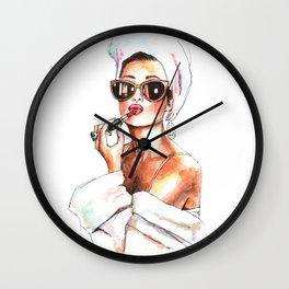 Fashion Lady Wall Clock