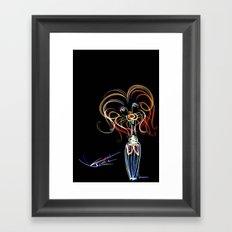 cool sketch 178 Framed Art Print