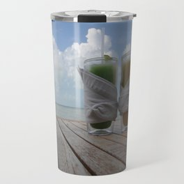 Heaven on a hot summer day..  Travel Mug