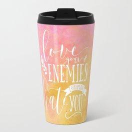LUKE 6:27 (Love Your Enemies) Travel Mug