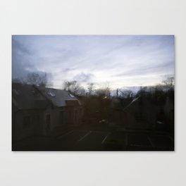 Dawn or Dusk Canvas Print