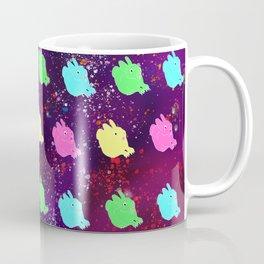 BUNNIES IN SPACE Coffee Mug