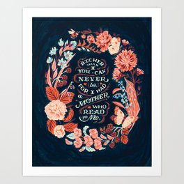 Mother's Day Quote Art Print