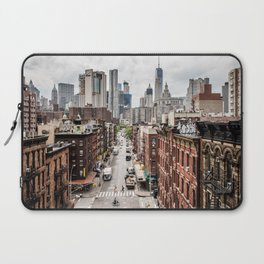 New York City Skyline (Brooklyn, Queens, Manhattan) Laptop Sleeve