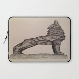 armored wolf Laptop Sleeve