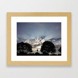 SkyView Framed Art Print