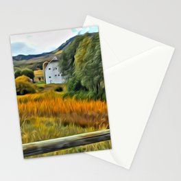 Park City Barn in Fall 1 Stationery Cards