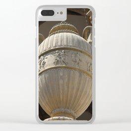 Decorative Urn - Palace Of Fine Arts SF Clear iPhone Case