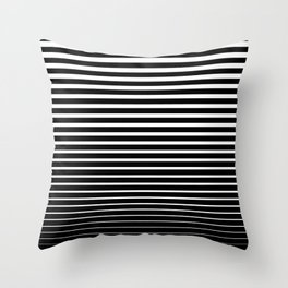 Line Gradient Throw Pillow