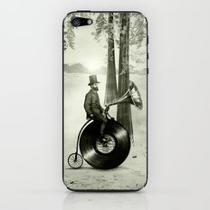 Music Man in the Forest, by Eric Fan and Viviana González iPhone & iPod Skin