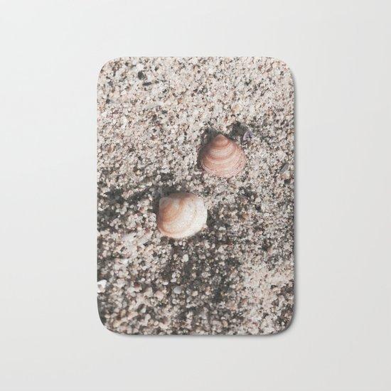 Shells and Sand Bath Mat