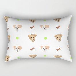 Wookiee & Padme Rectangular Pillow
